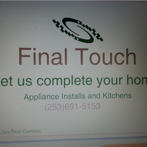 Final Touch Appliance Logo
