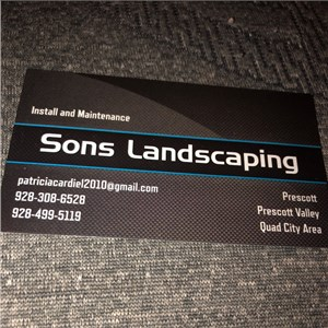 Sons Landscaping Logo