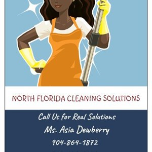 North Florida Cleaning Solutions Logo