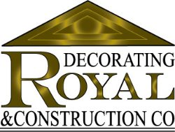 ROYAL DECORATING@CONSTRUCTION CO.LLC Logo