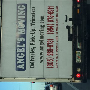 Angels Delivery & Moving Logo