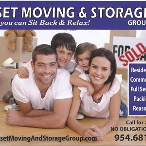 Sunset Moving and Storage Group Logo