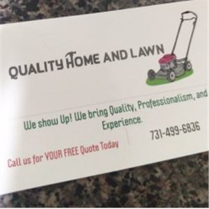 Quality Home and Lawn Logo
