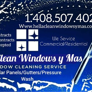 Hella Clean Windows y Mas Logo