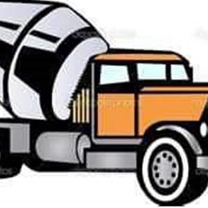Traditional Concrete Service Logo