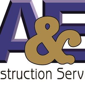 A & E Construction SVC Logo