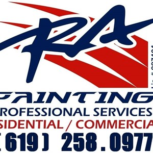 RA Painting & Services Logo