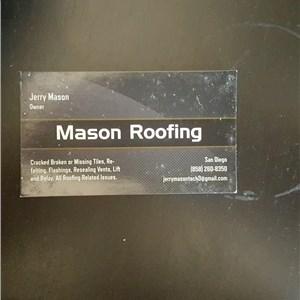 Mason Roofing Logo