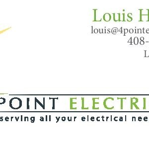 Four Point Electric Logo