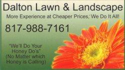 Dalton Lawn & Landscape Logo