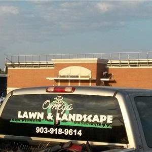 Omega Lawn And Landscape Logo