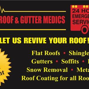 Roof & Driveway Medics Logo