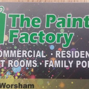 The Paint Factory Logo