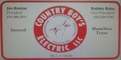 Country Boys Electric, LLC Logo