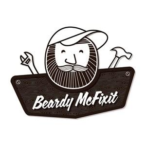 Beardy Mcfixit Logo
