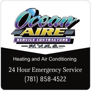 Ocean Aire Service Contractors Logo