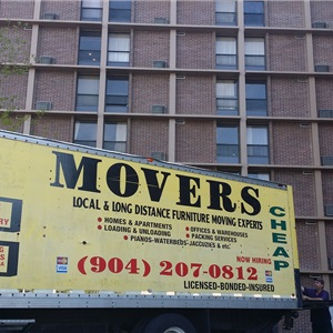 2 Cheap Movers and a Truck Logo