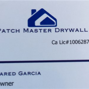 Patch Master Drywall Logo