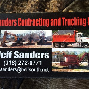 Sanders Contracting & Trucking Logo