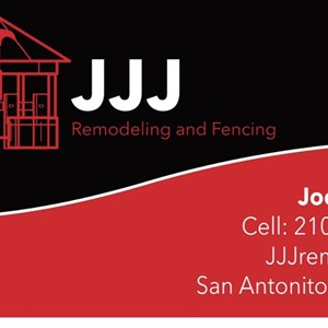 JJJ Remodeling And Fencing Logo