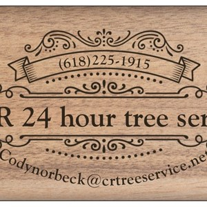 C&R 24 Hour Tree Service Logo