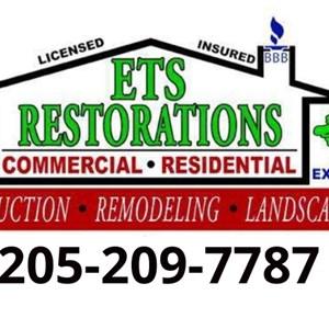 ETS Restorations, inc. Logo