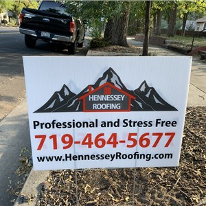 Hennessey Roofing, LLC Logo