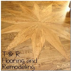 T & R Flooring & Remodeling Logo