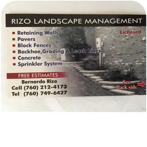 Bernardo Landscaping and Handyman Services Logo