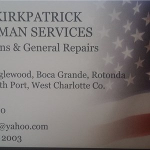 Steve Kirkpatrick Handyman Service Cover Photo