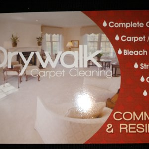 Drywalk Carpet Cleaning Logo
