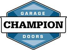 CHAMPION GARAGE DOORS Logo