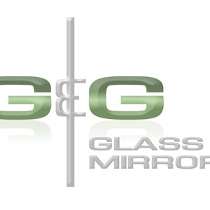 G and G Glass and Mirror Logo