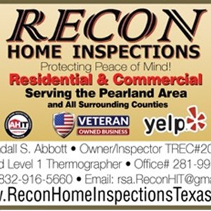 RECON Home Inspections Logo