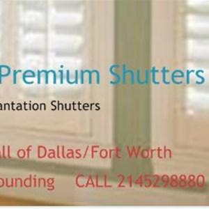 Dfw Premium Shutters Logo