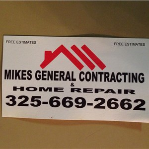 Mikes General Contracting & Home Repair Cover Photo