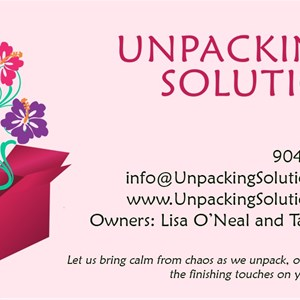 Unpacking Solutions, LLC Cover Photo