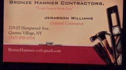 Bronze Hammer Co. Logo