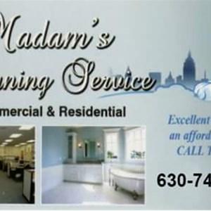 Madams Cleaning Service Logo