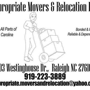 Appropriate Movers and Relocation LLC Logo