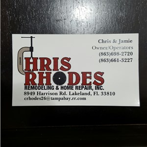 Chris Rhodes Reodeling and Home Repair Inc. Cover Photo