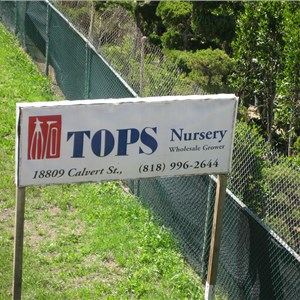 Tops Development/ Landscape/ Nursery Co. Logo