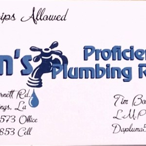 Tims Proficient Plumbing Repair LLC Cover Photo