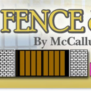 Custom Fence & Gates, Inc. Logo