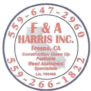 Harris Construction Clean Up Logo