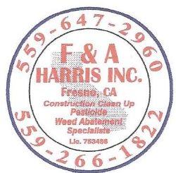 Harris Construction Clean Up Logo