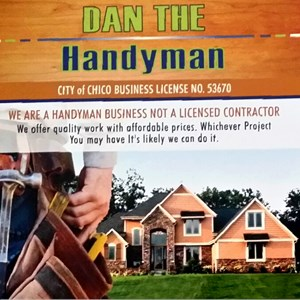 Daniel Patrick Construction dba Dan The Handyman Logo