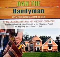 Daniel Patrick Construction dba Dan The Handyman Logo