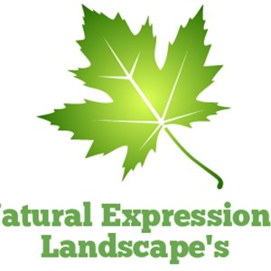 Natural Expressions Tree and Landscape Logo