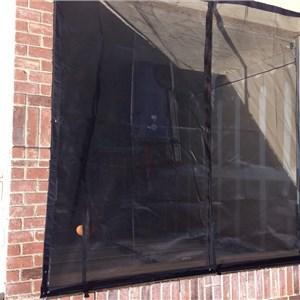 Snap On Garage Screen Cover Photo